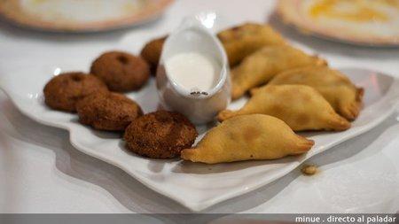 Restaurante sirio en valencia - empanadas
