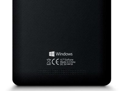 """¿Es esta la primera imagen de un teléfono con la marca """"Windows"""" en lugar de """"Windows Phone""""?"""