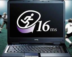 Portátiles Benq Joybook R53 con la pantalla más rápida del  mundo