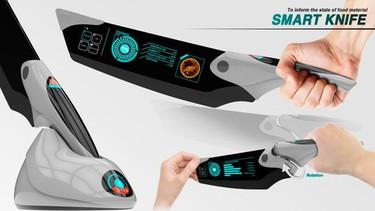 Smart Knife, el cuchillo que te dice la información nutrimental de tus alimentos