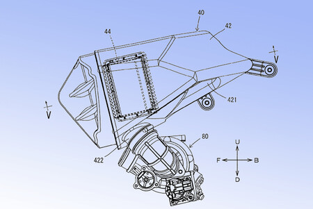 Yamaha Mt09 Mt10 Turbo Patente 2020 2