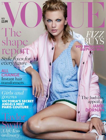 Taylor Swift debuta en Vogue UK con portada. ¿Quién nos dio el cambiazo?