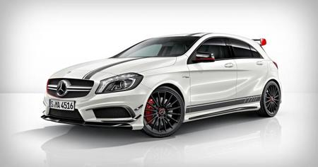 Mercedes-Benz A 45 AMG lateral