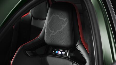 BMW M5 CS asientos