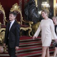 Patricia Rivas recepcion Felipe VI Letizia