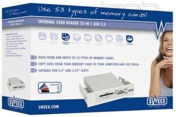 Sweex Memory Raeder, lector de tarjetas 53 en 1