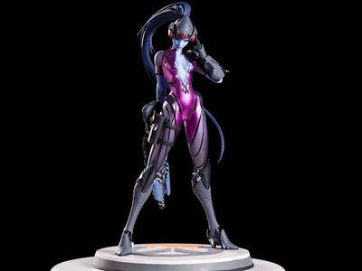 Widowmaker de Overwatch también tendrá su figura especial