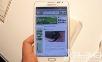 Samsung Galaxy Note, toma de contacto en su presentación oficial en Europa