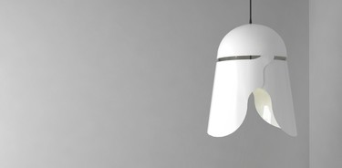 Lámparas que se parecen, y mucho a los personajes de Star Wars
