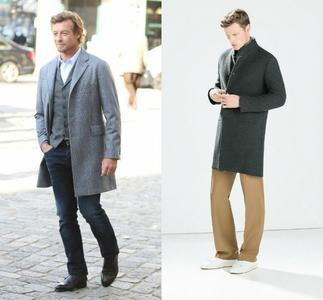 Consigue el look de Simon Baker gracias a Zara
