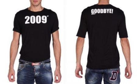 Camiseta Goodbye 2009 de Dsquared2