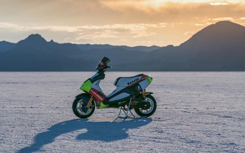 Scooter 50cc Malossi Record Velocidad 3