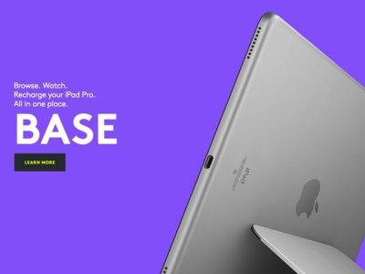 Logitech ha lanzado una base de carga para el iPad que utiliza el Smart Connector