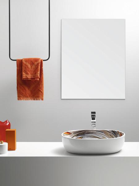 Mariscal y su lavabo inspirado en su propia portada del New Yorker