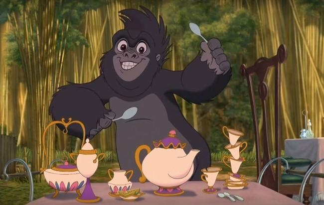 Tarzan La Bella Y La Bestia