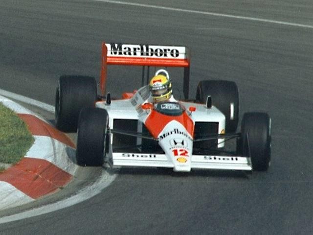 Ayrton Senna 1988 Canada