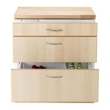 Ya tenemos en Ikea frigoríficos de cajones y extractores colgantes