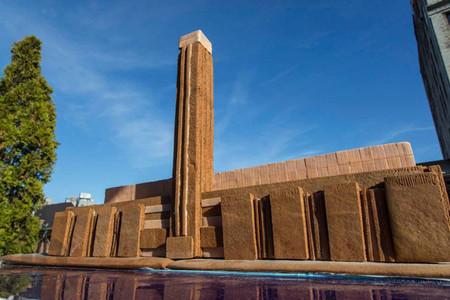 Arquitectura con pan de jengibre, por Henry Heargreaves y Caitlin Levin