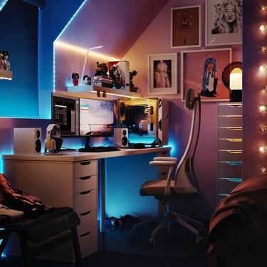 ¿Aficionado a los videojuegos, y también a la decoración? Ikea  lanzará una colección de muebles y accesorios para gamers