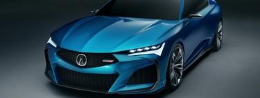 Acura Type S Concept, así es como la marca anuncia su retorno al segmento de alto desempeño
