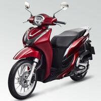 La Honda SH Mode 125 se pasa a Euro5 con los mismos 11 CV, Smart Key y óptica delantera LED