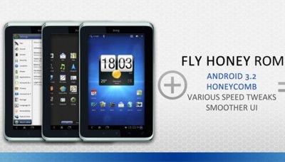 Aparecen las primeras ROMs con Honeycomb para el HTC Flyer