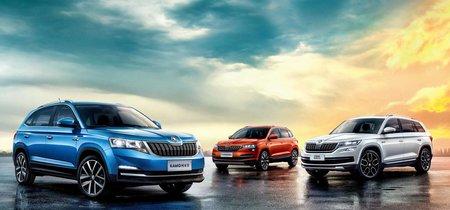 Este es el aspecto del nuevo Škoda Kamiq, un SUV urbano exclusivo para China
