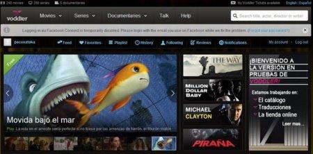 Voddler lanza un servicio de descargas para las películas en alquiler