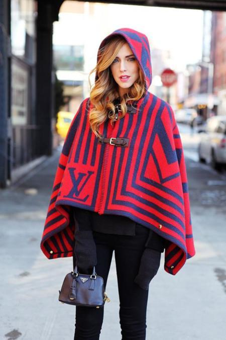 Clonados y pillados: no es de Louis Vuitton, pero sí es una capa-manta