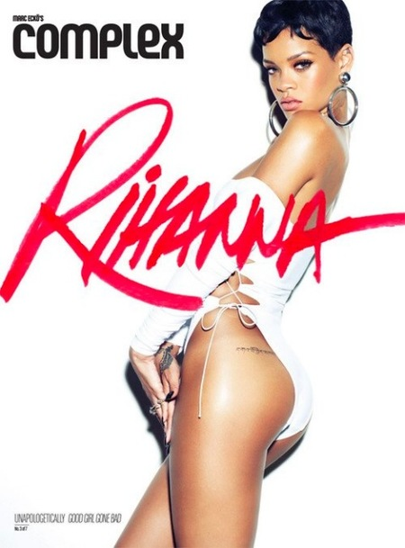 Rihanna y sus septillizas jamonas enseñan cacha en la revista Complex