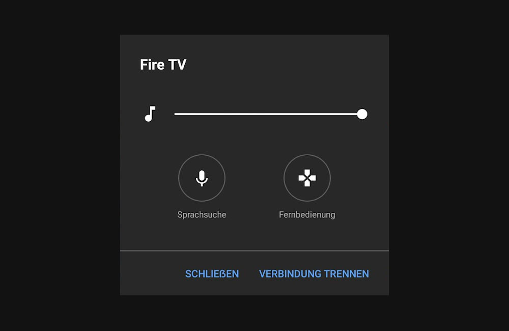 YouTube for Android test a remote control TV with voice search