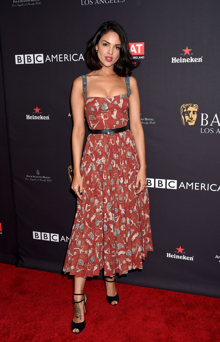 tea party bafta alfombra roja Eiza Gonzalez