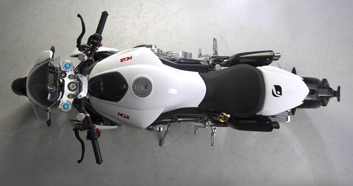 FGR Midalu V6, 2500 cc y 240 CV para una Naked