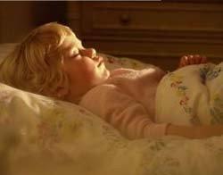 Los bebés amamantados mojan menos la cama