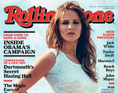 Jennifer Lawrence, me has rechiflado en  Rolling Stone