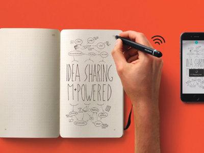 Moleskine Smart Writing Set, para escribir y dibujar como toda la vida, pero en el móvil o tableta