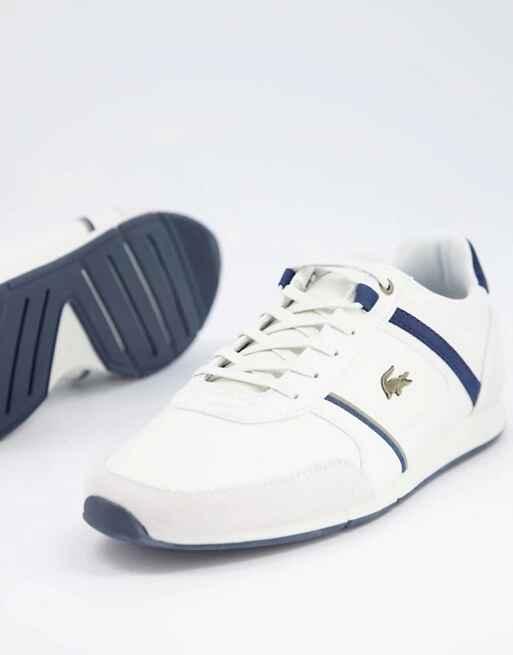 Zapatillas blancas de correr menerva de Lacoste