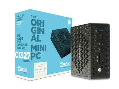 Zotac ZBOX CI327 nano, un mini-PC compacto para montar tu HTPC sin muchas pretensiones