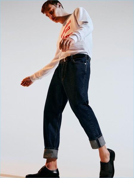 Muestra tu estilo más trendy con las propuestas en denim de Zara Man
