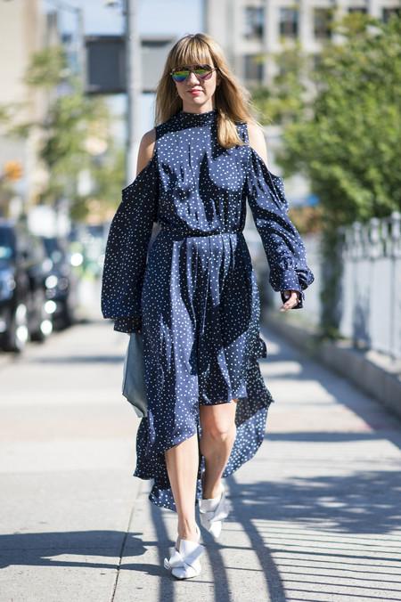 Como Combinar Un Vestido Azul Marino 11