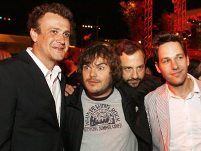 Jason Segel y Paul Rudd en 'I Love You, Man'