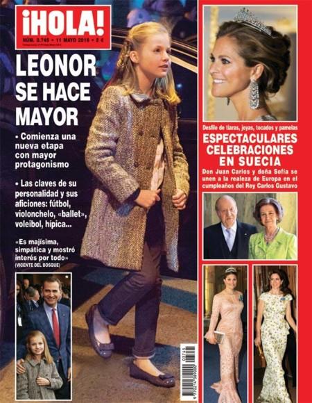 Leonor ya es toda una mujercita