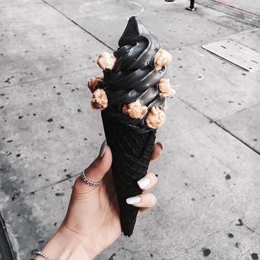 Llegan los helados góticos, para los que se han cansado de tanto arcoíris y comida de unicornio