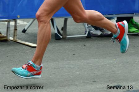 Entrenamiento para empezar a correr: semana 13