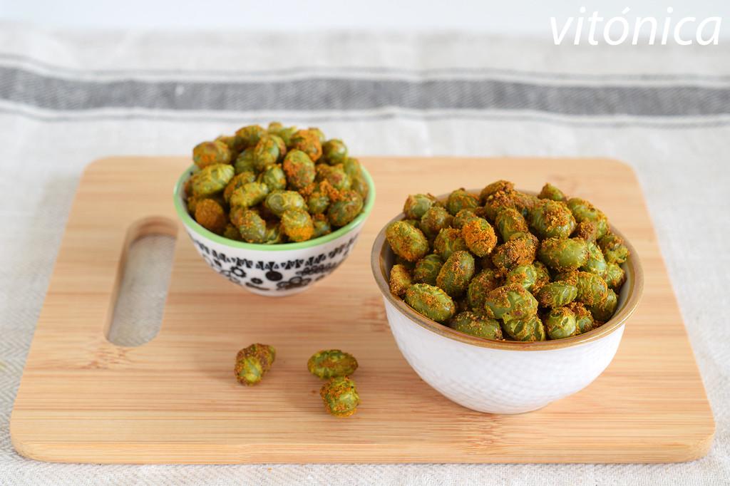 Edamames especiados al horno: receta de snack saludable