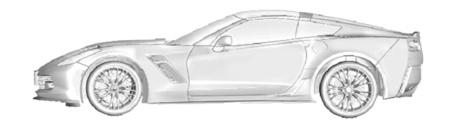 Corvette C7, al desnudo en imágenes 3D