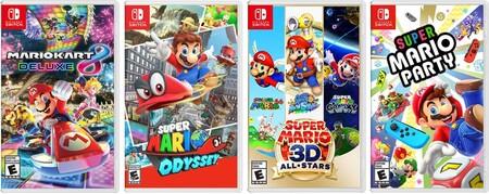 Jugos de Mario Bros. para Nintendo Switch con descuento en México