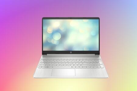 Este equilibrado portátil HP15s con SSD de 512GB a poco más de 400 euros en Amazon: ofimática y navegación para la vuelta a clase