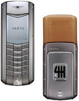 Vertu Ascent Ferrari 60, el móvil de edición limitada
