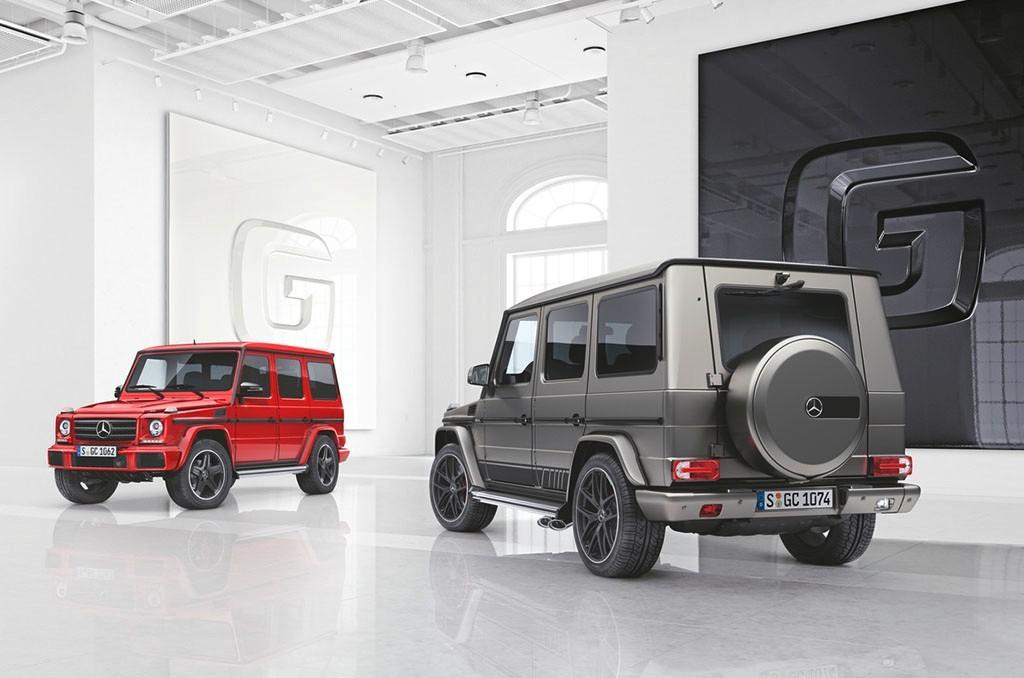 Foto de Mercedes-Benz lanza dos ediciones especiales del Clase G (1/6)